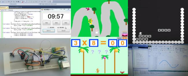 プログラミング教室で学ぶ内容はソフトからハード、動画作成まで様々。