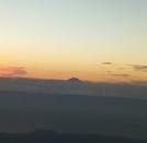 富士山のお見送り