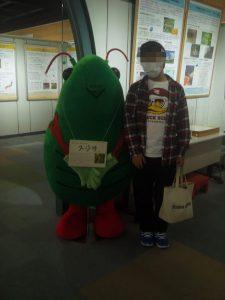 スジヲと記念撮影