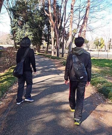 洞峰公園散策